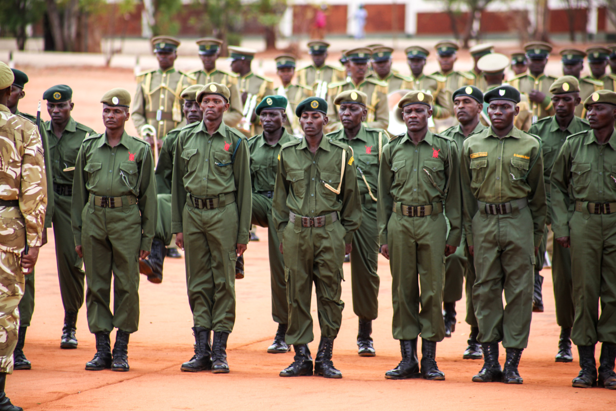 Passing Out Parade Of 2017 Wildlife Conservancy Supervisors' Course