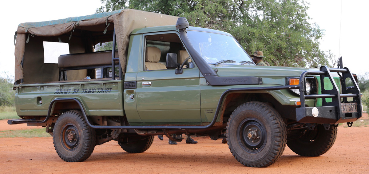 Rebuild Of KWS Field Patrol Vehicle