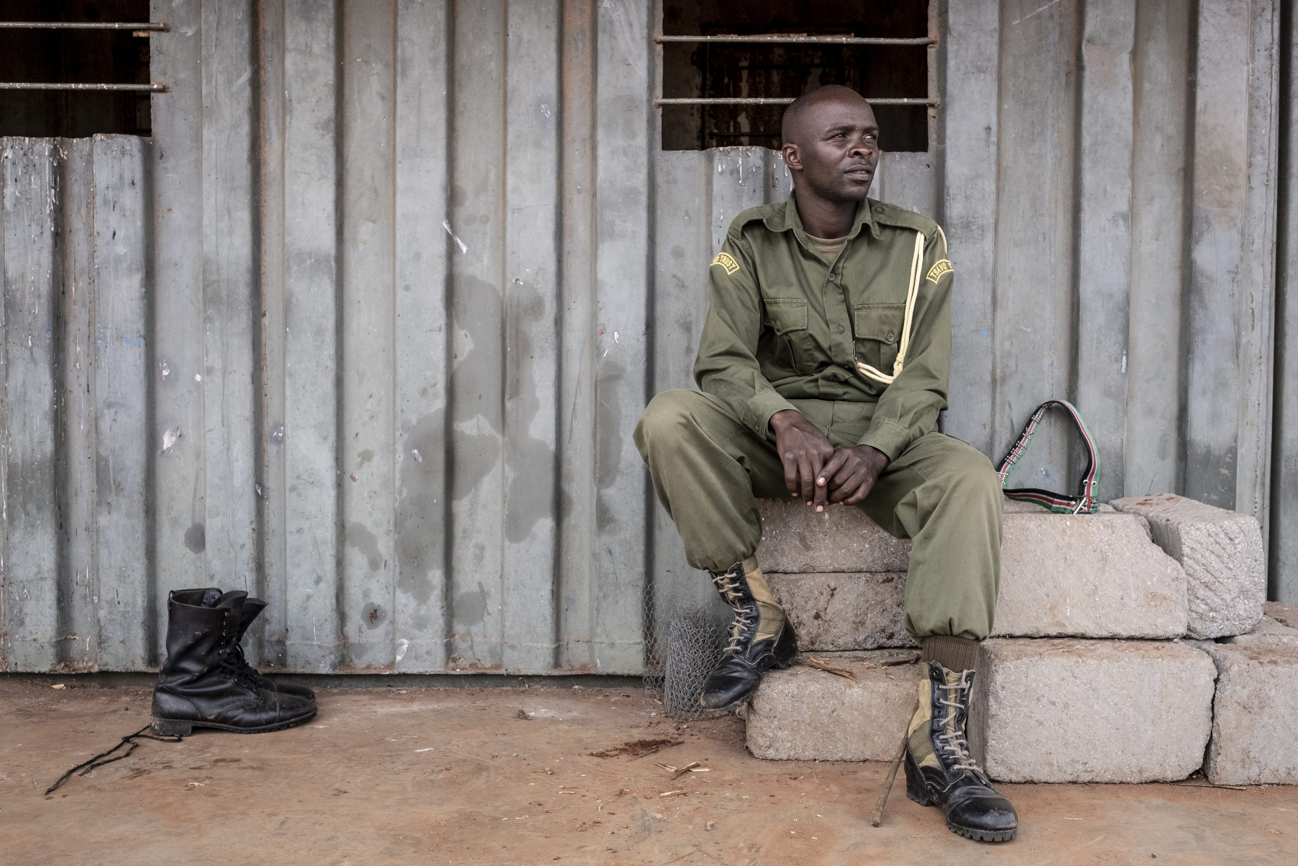 Tsavo Trust Ranger