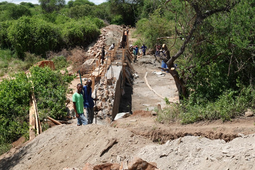 Employment For Sand Dams