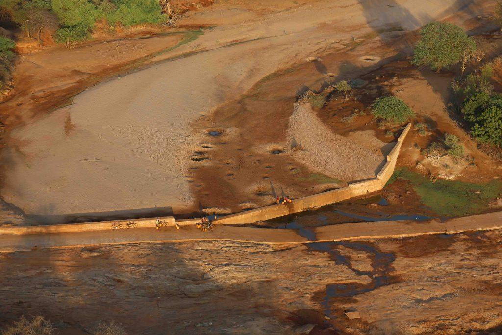 Kambu River Sand Dam For Elephant Conservation