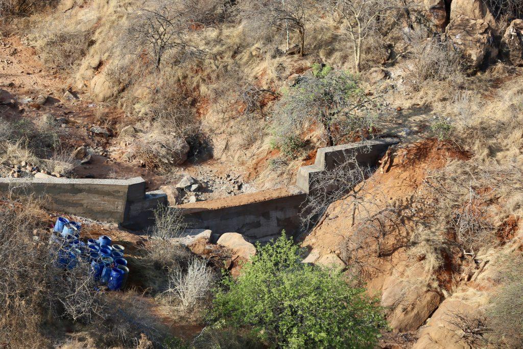 Kangechwa Sand Dam For Elephant Conservation