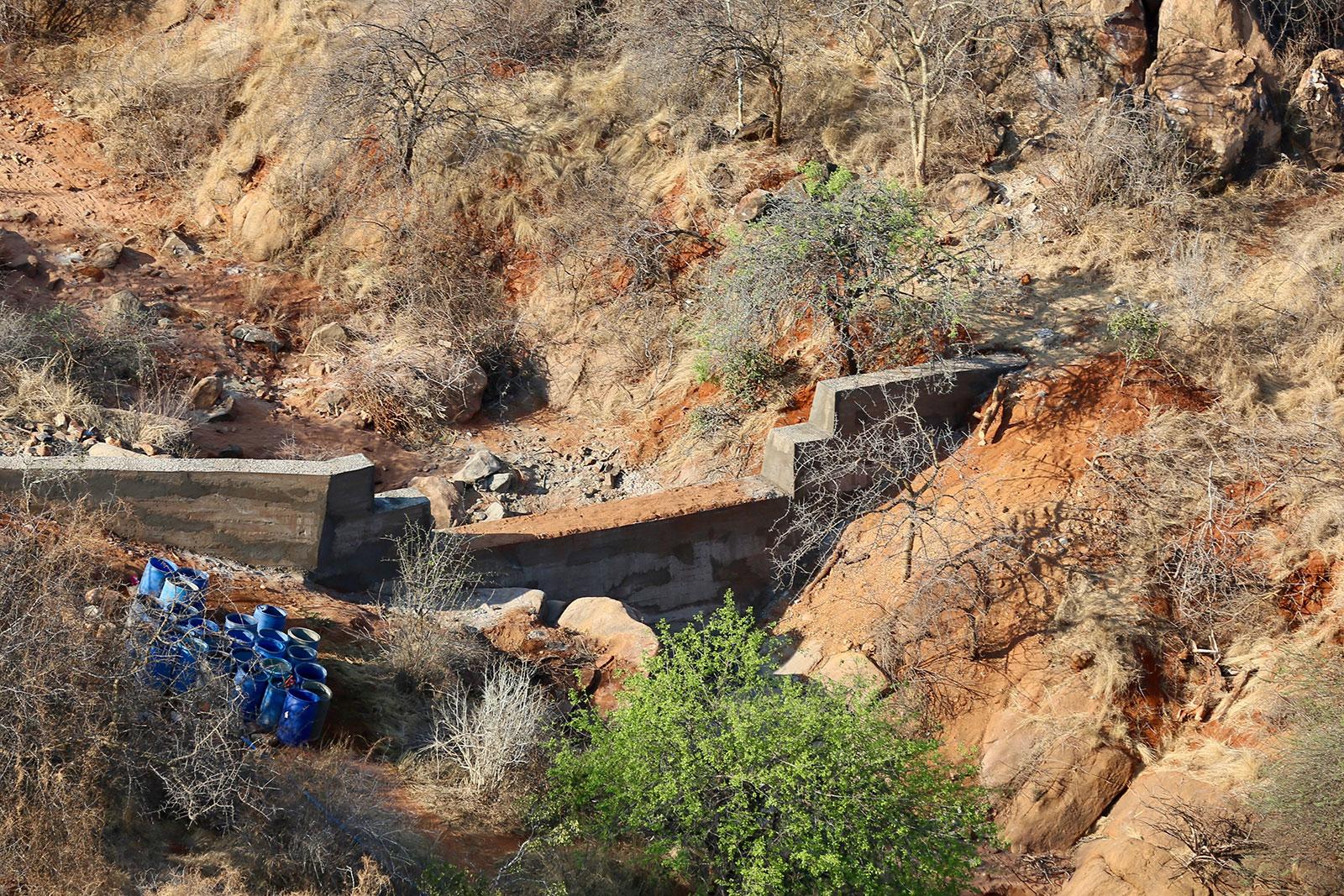 Tsavo Trust Sand Dam Projects 2020 10 13 Kangeshwa A